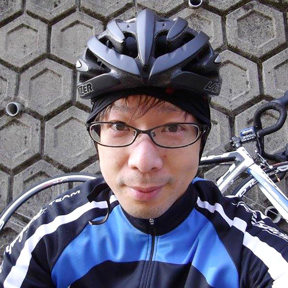 趣味は自転車です。