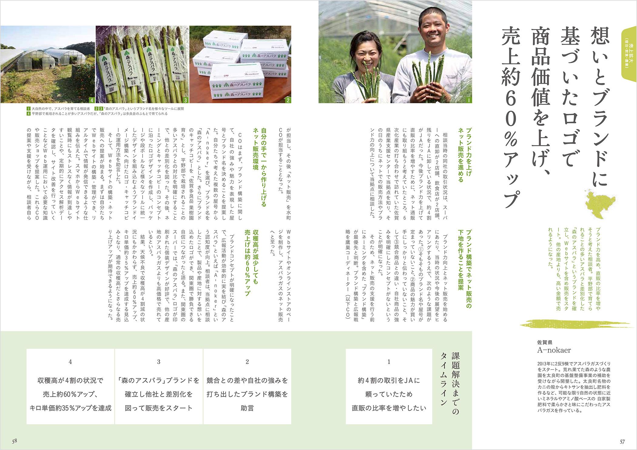 平成26年度 佐賀県よろず支援拠点 取組事例 森のアスパラ